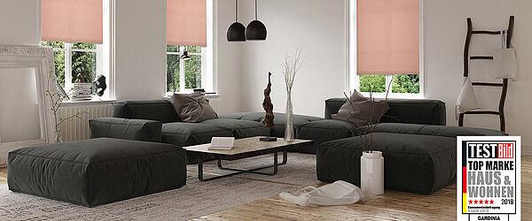 gardinia gute ideen am fenster. Black Bedroom Furniture Sets. Home Design Ideas